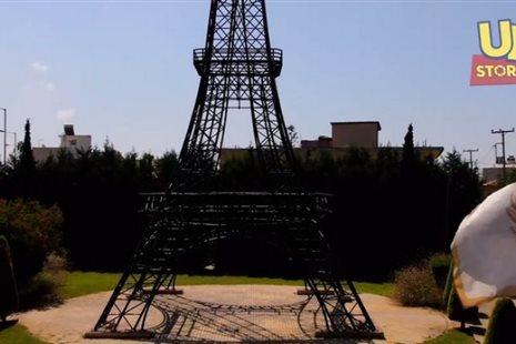 """Φιλιατρά: Ο """"Πύργος του Άιφελ"""" από ψηλά"""